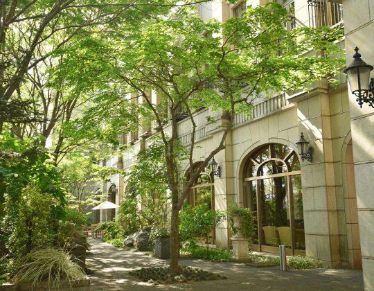 〔朝食付〕森の中の迎賓館で優雅なひとときを