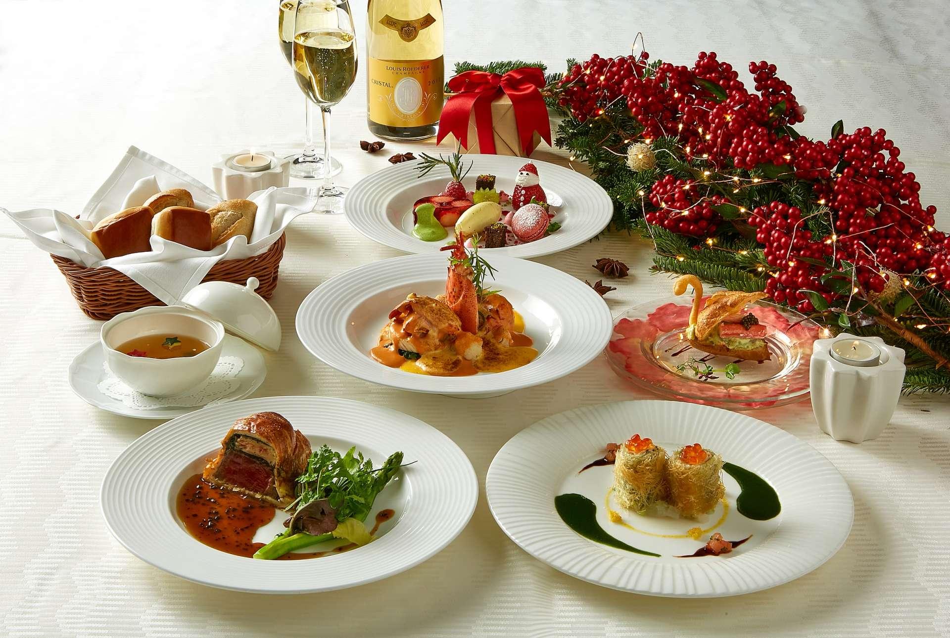 <GoToトラベルキャンペーン割引対象>クリスマスディナー付プラン◆2食付◆