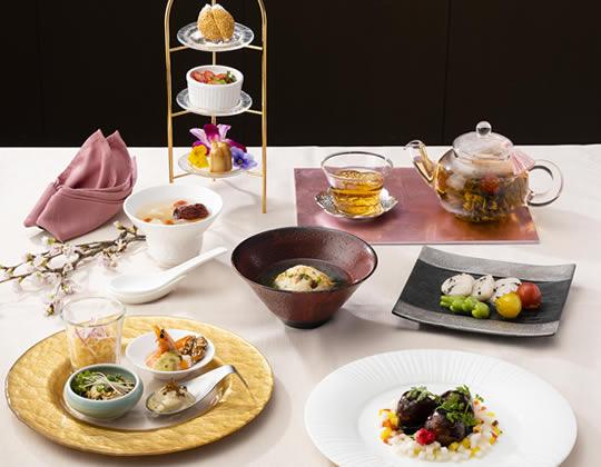 中国料理 四川飯店 この春登場の新メニュー「プレシャスランチ~春~」
