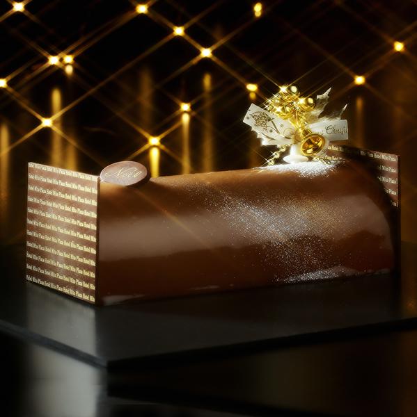 クリスマスケーキ「ブッシュ ド ノエル」