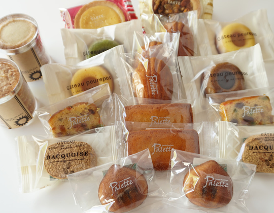 オンラインショップにスイーツブティックパレットの「焼き菓子」が登場